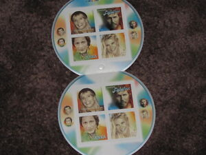 CANADIAN RECORDING ARTISTS STAMPS