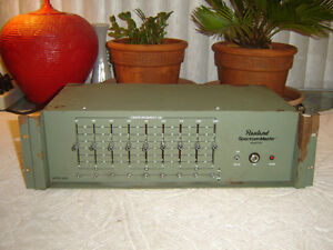 Rauland-6209-Spectrum-Master-9-Band-Graphic-Equalizer-Eq-Vintage-Rack