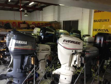 Outboard Motors Mercury, Yamaha, Suzuki, Evinrude, Tohatsu, Honda Southport Gold Coast City Preview