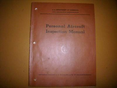 1950 CAA Personal Aircraft Inspection Manual