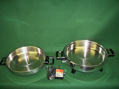 Kitchen Nutrition Oil Core Waterless Exciting Skillet MADE IN USA BY AMERICRAFT
