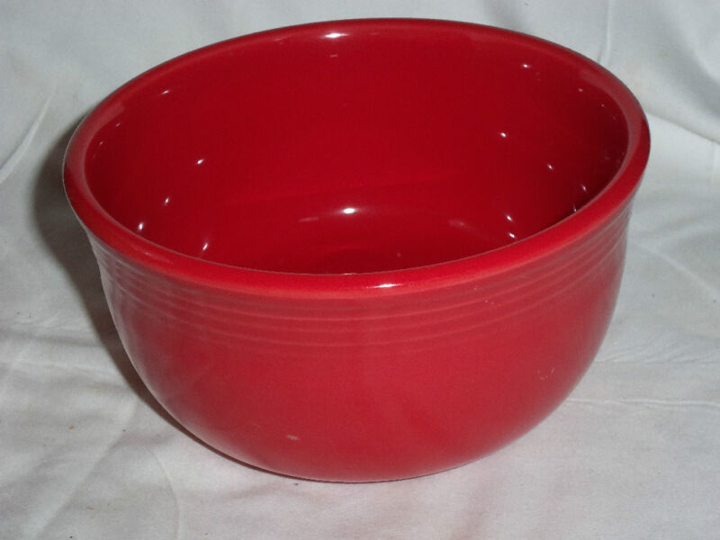 "Fiesta GUSTO BOWL -  23 oz. - 5 1/2"" wide x 3"" deep appx. - SCARLET Red"