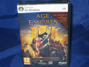 Age-of-Empires-III-3-Complete-Collection-Asian-Dynasties-Warchiefs-AOE-PC-NEW