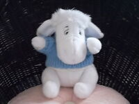 DISNEY PLUSH EEYORE BLANC A COLLECTIONNER, NUMERO CH27903
