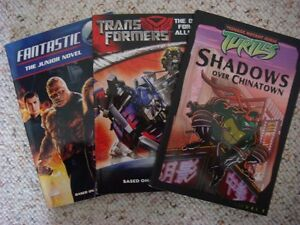 A lot of 3 movie books for Children / Young Readers