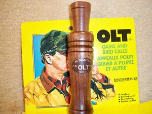 PS-OLT-Sonderman-66-Duck-Call-Pekin-Illinois-Decoy-Goose