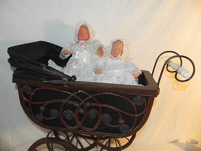 Schöner rustikaler Puppenwagen Holzwagen Holz