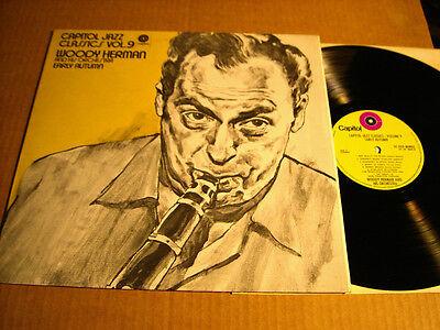WOODY HERMAN - CAPITOL JAZZ CLASSICS VOL. 9 - EARLY AUTUMN - LP