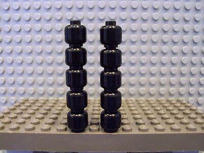 Lego Minifig ~ Lot Of 10 Black Heads ~ Blank Star Wars Storm Trooper #ywetuy