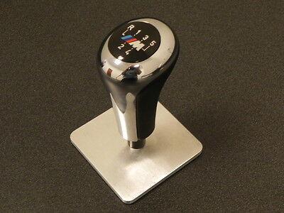 BMW e36 3 series  M3 Z3  1991 - 2002  M  Chrome / Leather shift knob