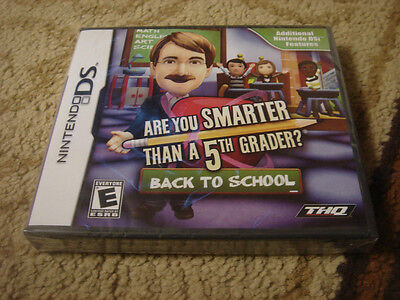 Are You Smarter Than A 5th Grader? Back To School (nintendo Ds, 2010)