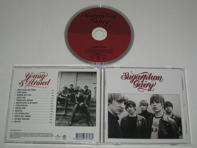 SUGARPLUM FAIRY/YOUNG & ARMED(UNIVERSAL 0602498707289) CD ALBUM