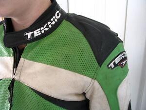 Kids Leather Motorcycle Jacket Teknic Kitchener / Waterloo Kitchener Area image 1