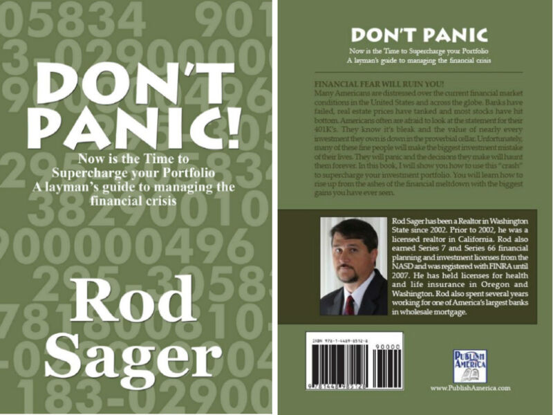 Don't Panic! by Rod Sager (2010, Hard Cover)