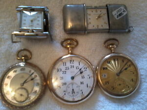 ANTIQUE VINTAGE POCKET WATCHES / ASST YEARS / 1885 - 1960 xxx City of Toronto Toronto (GTA) image 3