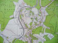 Topographischer Stadtplan LAUSCHA, M 1 : 10.000 Thüringen - Weimar Vorschau