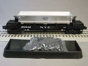 LIONEL-NEW-YORK-CENTRAL-COAL-DUMP-CAR-6-30007-nyc-train-hopper-kline-6-26842-NEW