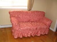 *negotiable* Superbe ensemble pour couvrir les sofas