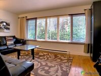 SHERBROOKE 6 1/2, 4- 5BR FURNISHED ALL INCLUDED