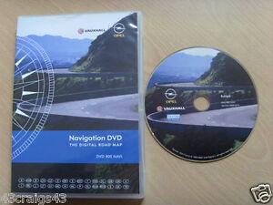 Vauxhall-Europa-Sat-Nav-Navigazione-DVD-800-NAVI-2009-2010-Europa-GB-IRE-ETC