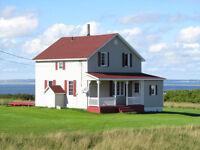 Maison typique des Iles de la Madeleine à louer.