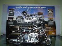 Harley Shovelhead 1976 FLH ( Modèle réduit)
