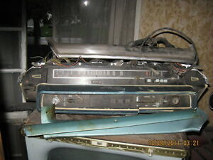 DASH , INSTRUMENT CLUSTER , ETC FROM 1965 MERCURY METEOR