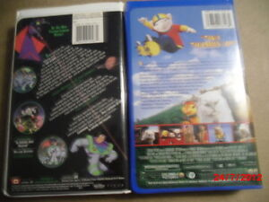 VHS Buzz Lightyear of star command or Stuart Little 2 Gatineau Ottawa / Gatineau Area image 2