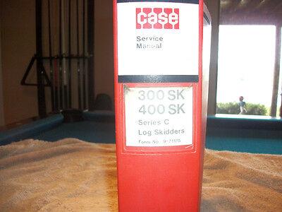 Original Case 300sk 400sk Series C Log Skidders Service Manual Allison Trans.