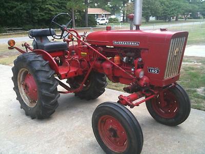 Farmall International Ih Tractor Seat Frame And Cushion 140 Cub 100 300 350 130