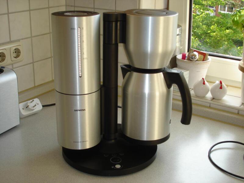 siemens porsche design kaffeemaschine in schleswig. Black Bedroom Furniture Sets. Home Design Ideas