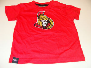 2011-12-Ottawa-Senators-18-Months-Basic-Logo-T-Shirt-Infant-Kids-NHL-Hockey