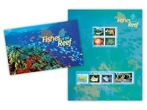 Australia-2010-MNH-Fishes-of-the-Reef-Part-2-Stamp-Pack-Marine-Wildlife