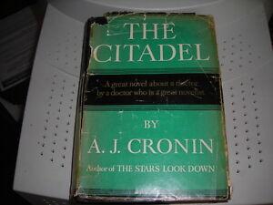 "A J CRONIN-""THE CITADEL"" circa 1938/The Minstrel Boy"" circa 1975"