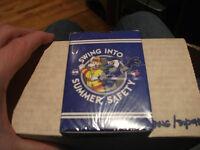 2012 toronto blue jays fire safety card set