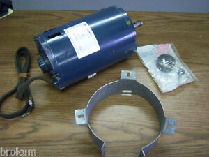 Franklin Electric 1ph Ac Motor 1 1 2hp 1501250400 1100 Rpm New