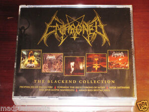 Enthroned: The Blackend Collection 4 CD Box Set 2007 Candlelight Records NEW