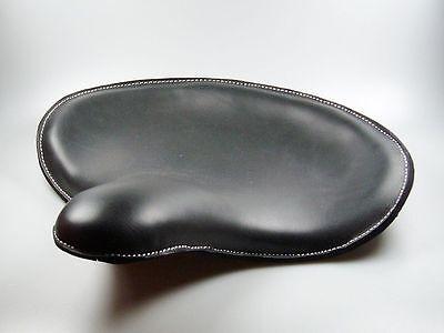 Solo Sitz Bobber WLC Style, Echtleder schwarz, für Harley - Davidson