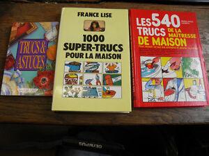 Lot de 3 livres des trucs et astuces bricolage maison ebay for Astuces bricolage maison