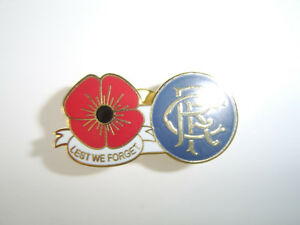 rangers poppy badge
