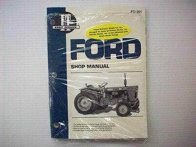 It Manual Ford Fordson, Dexta, Super Model Tractors Fo-201 -