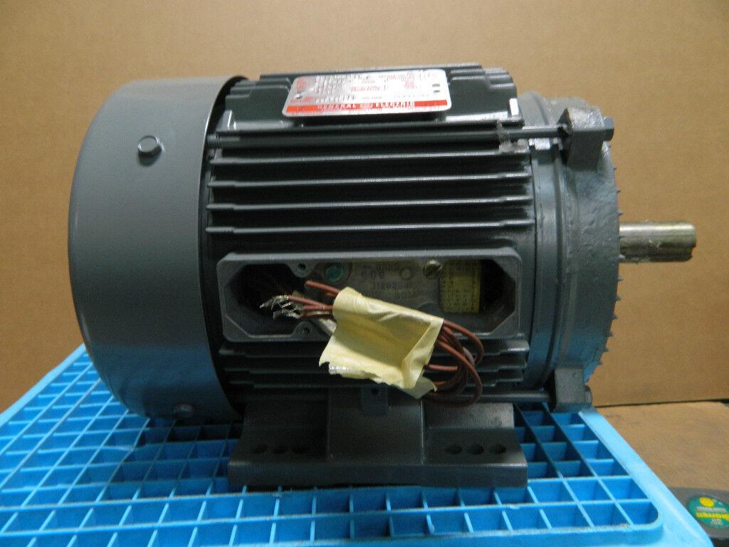 Ge Electric Motor 575 Volt Model No 5k184ax9530 3 Phase