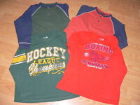 4 CHILDREN PLACE Chemise Sports Shirt Hockey GARCON 7 8 ans