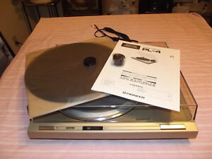 Pioneer-PL-4-Stereo-Direct-Drive-Turntable-Made-In-Japan-NEW-IN-BOX