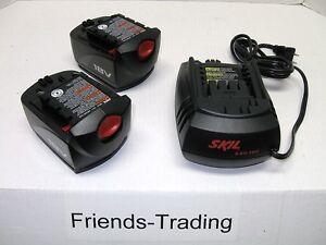 Skil-18V-18-Volt-2-Battery-SB18A-and-Charger-SC118-Combo-Set