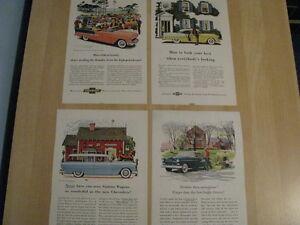 1955 Chevrolet Original Ads.