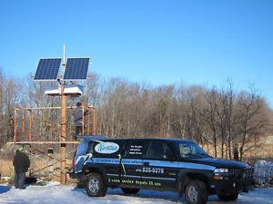 Pompe solaire 12 volts ITT Série 4000 chalet, bovins, irrigation Québec City Québec image 3