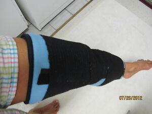Immobilisation pour jambe et genoux 19 pouces West Island Greater Montréal image 2