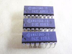 IC BAUSTEIN RAM 4164 = KM4164B-10 u.a.  3x    18668-136