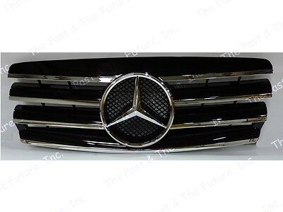93 94 95 96 97 98 99 00 Mercedes Benz C Class W202 Style CL Grille Black Grill